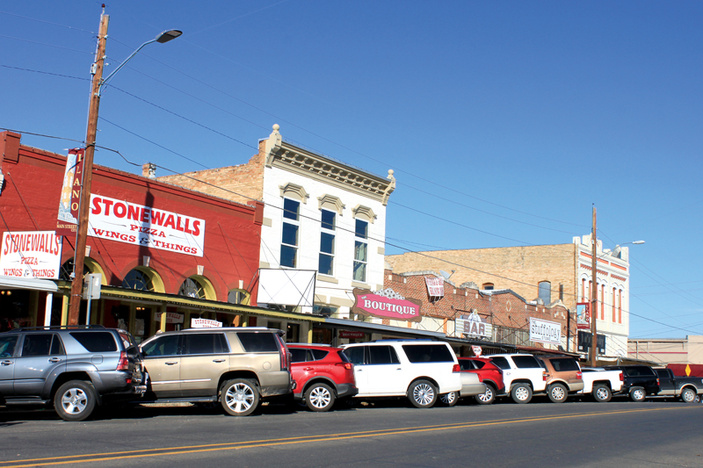 Llano downtown