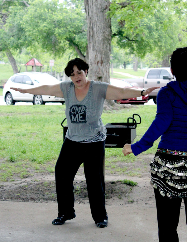 Zumba at Johnson Park in Marble Falls