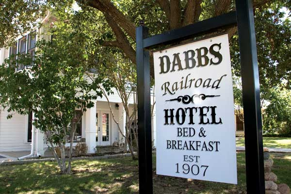 The Dabbs Hotel in Llano