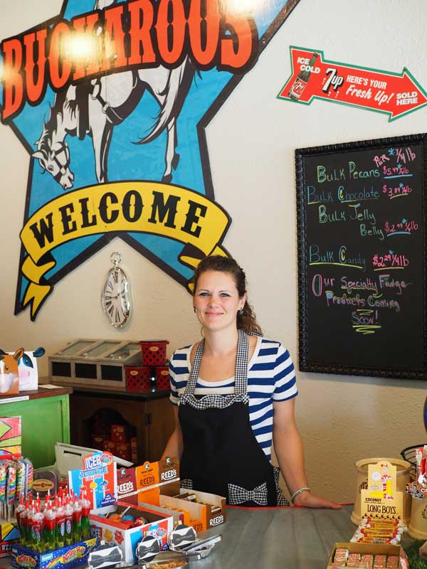 Cowboy Fudge and Candy Shop in Llano