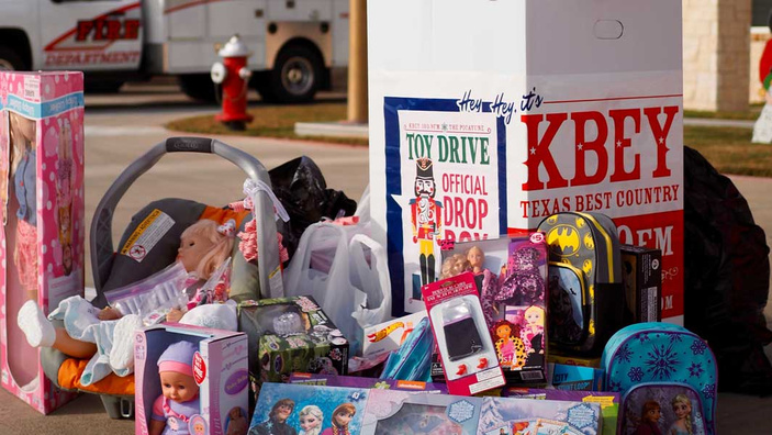 The Picayune/KBEY 103.9 FM Toy Drive