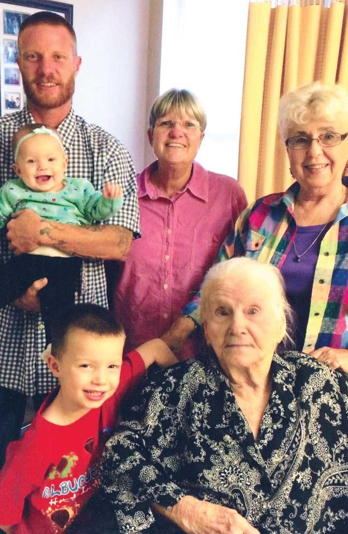 Clara Nagel celebrates 103 years