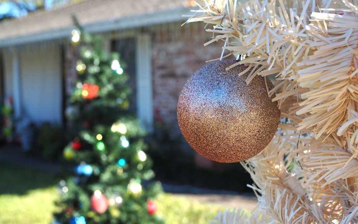 Burnet's Corder Lane Christmas lights