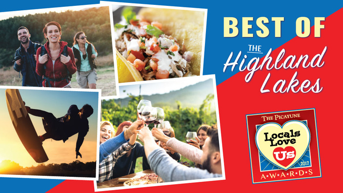 Locals Love Us Best of the Highland Lakes 2017