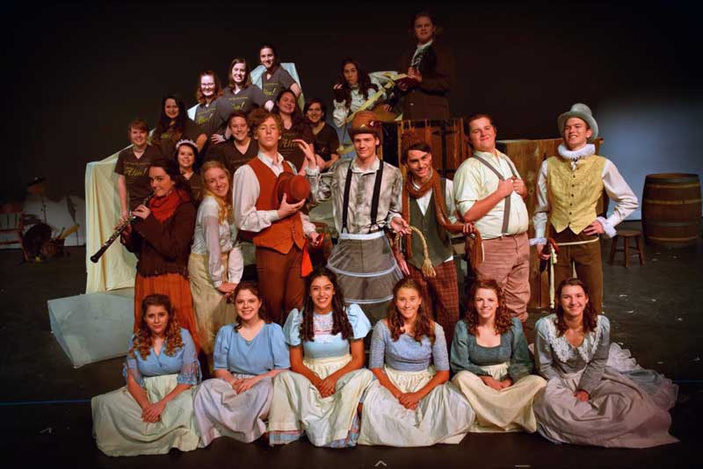 Marble Falls High School's 'Alice!'