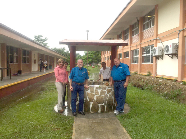 Rotary Club of Marble Falls in Mexico