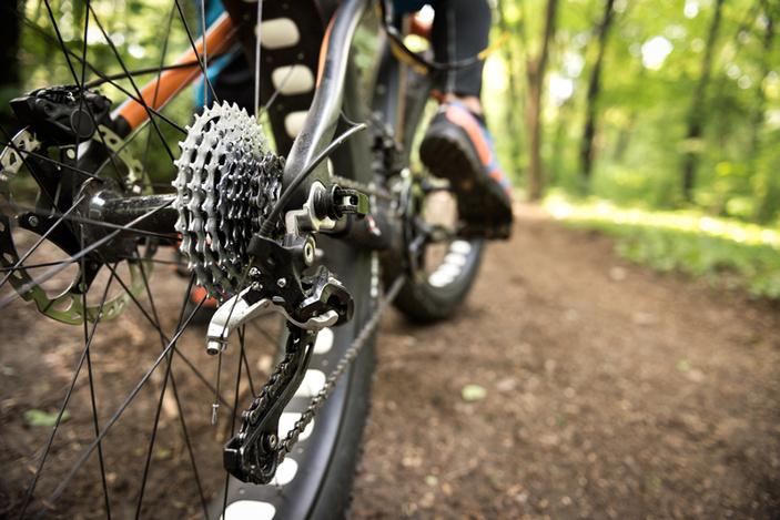 Mountain biking in the Highland Lakes