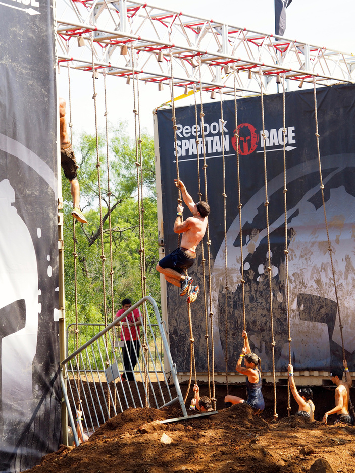 Spartan race series in Texas