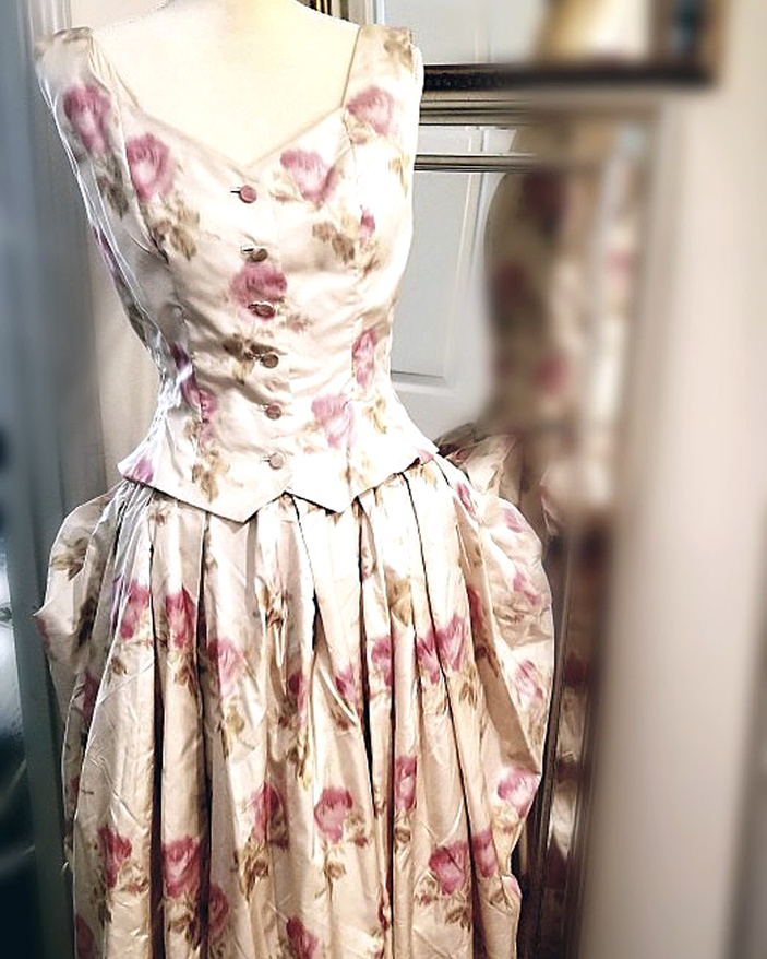 Christian Dior dress in Marble Falls