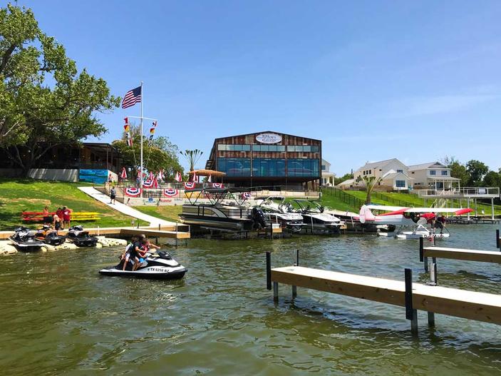 Boat Town Burger Bar Lake LBJ