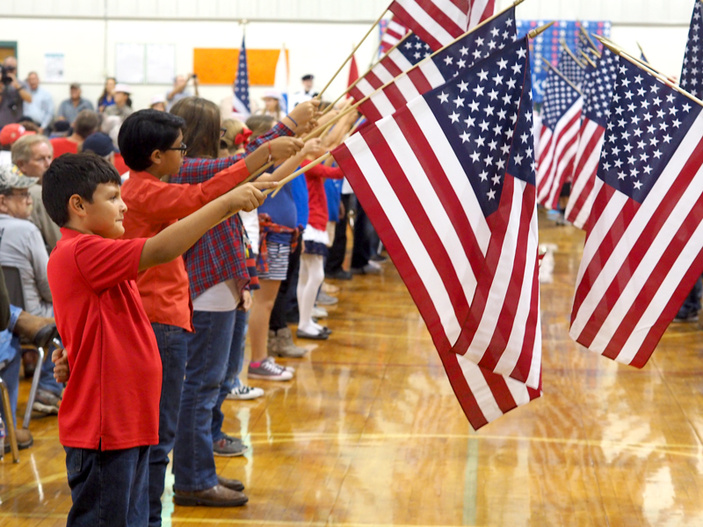 Veterans Day at R.J. Richey Elementary