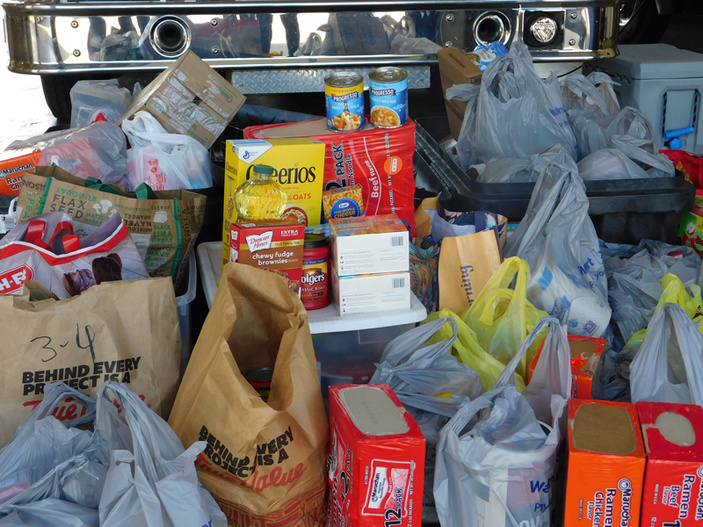 The Picayune and KBEY 103.9 FM Food Drive