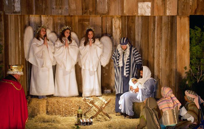 Living Christmas Story