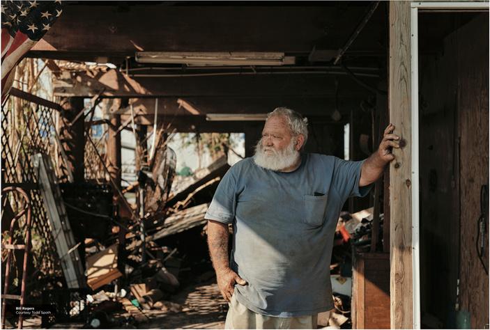 Hurricane Harvey survivor Bill Rogers