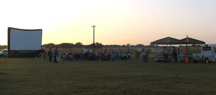 Movies Under the Stars at LBJ Ranch