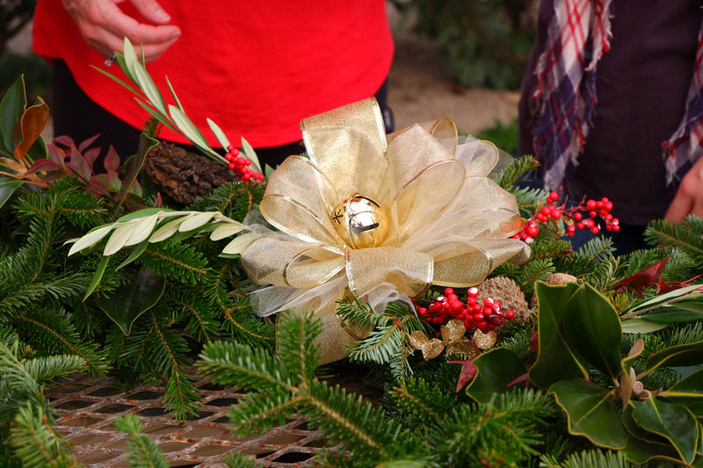 Wreath-making workshop