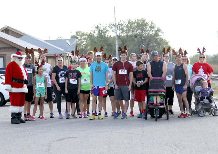 Reindeer Fun Run in Llano
