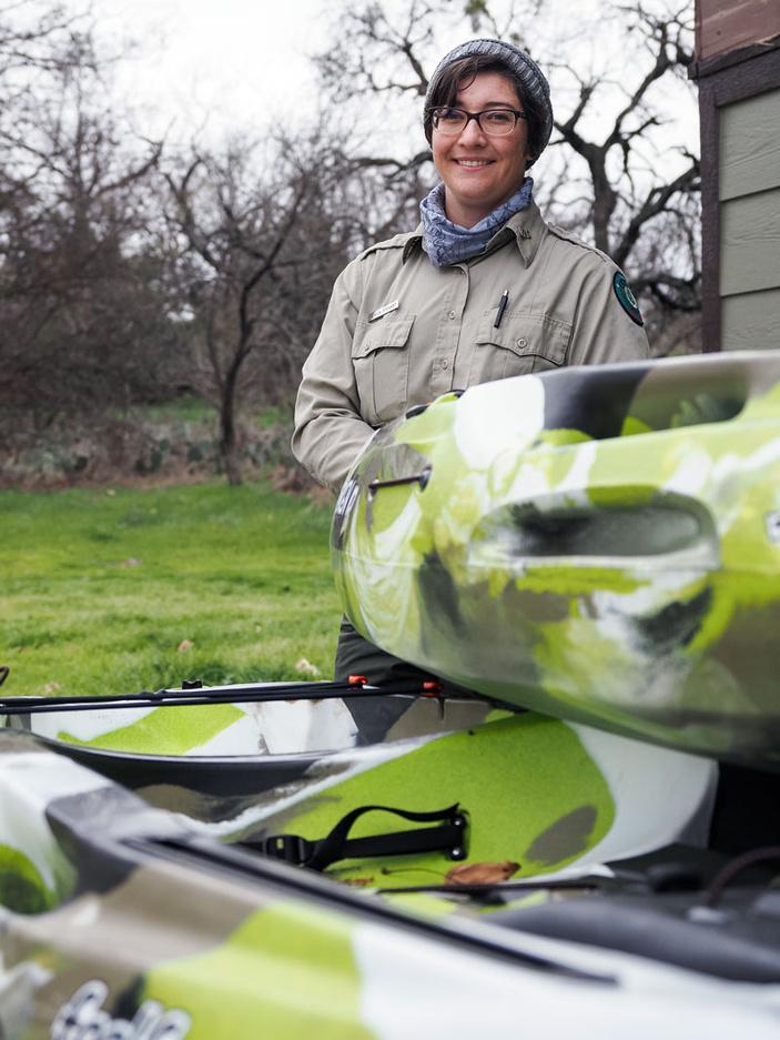 Inks Lake State Park interpreter Monica Stewart
