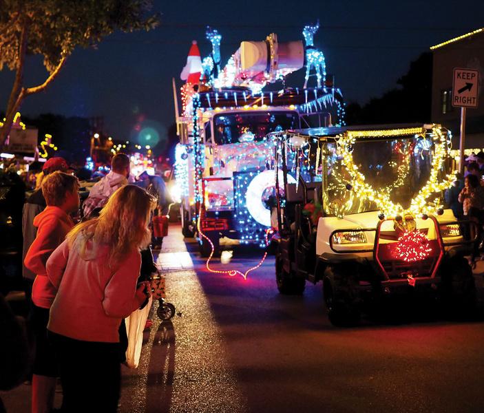 Marble Falls Christmas Light-Up Parade