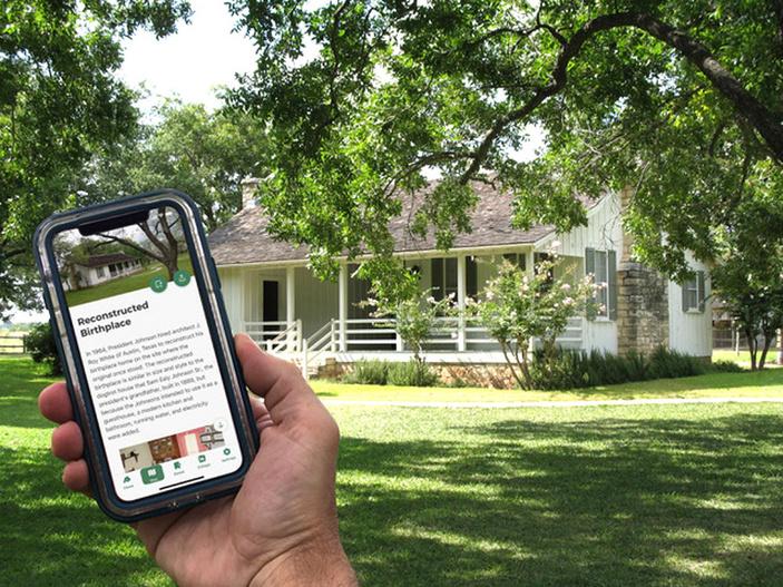 LBJ National Historical Park app
