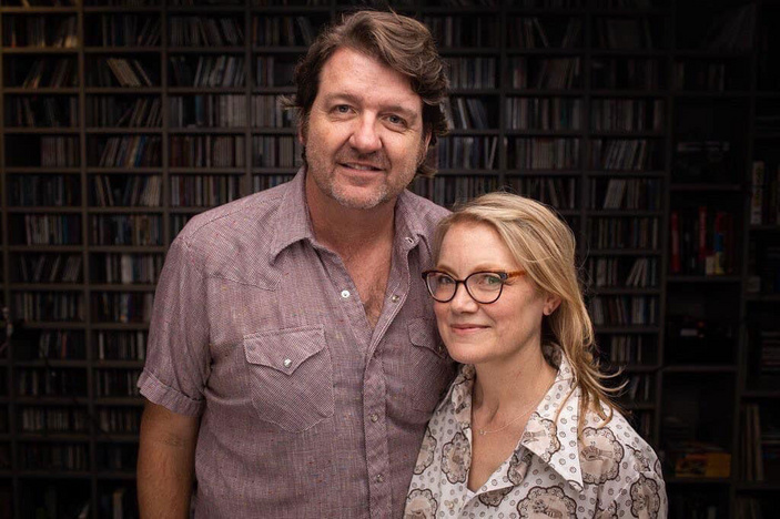 Bruce Robison and Kelly Willis at the Globe Theatre
