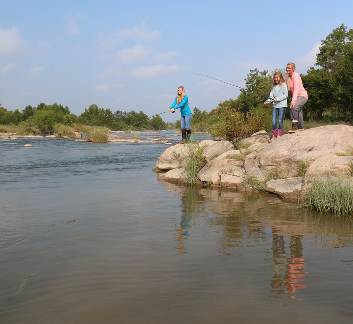 Fish the Llano River in Castell