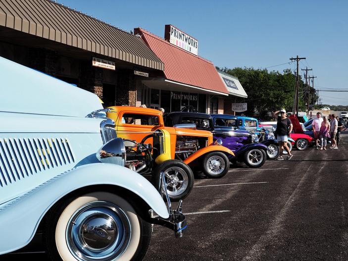Marble Falls Main Street Car Show