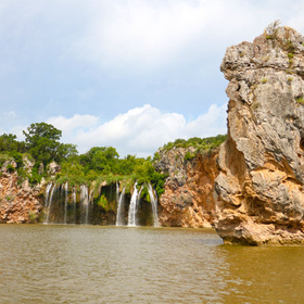 Lake Buchanan Waterfall