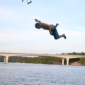 Lakeside Park in Marble Falls