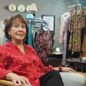 Sandra Santee of Living Love Thrift Store