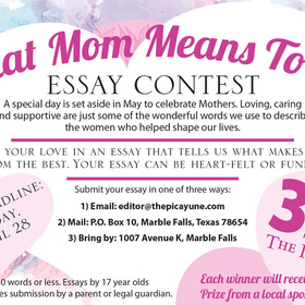 Picayune Mothers Day Contest 2017