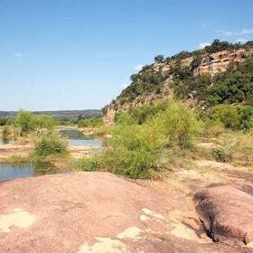 Llano River geology