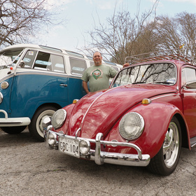 VW Car Show at Llano Earth Art Festival