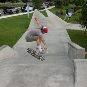 Skateboarding competition
