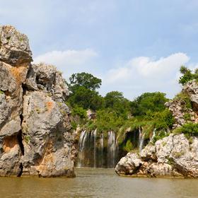 Vanishing Texas River Cruise fall creek waterfall