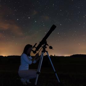 Stargazing at Inks Lake State Park