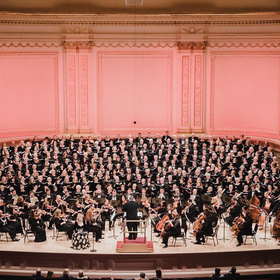 FUMC of Marble Falls choir at Carnegie Hall