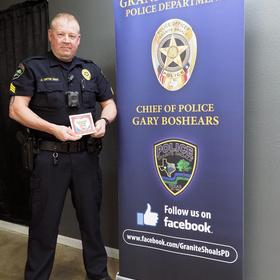 Granite Shoals Police Sgt. John Ortis
