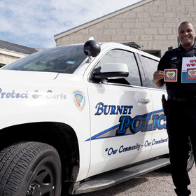 Burnet Police Officer Myron Hall