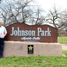 Johnson Park in Marble Falls