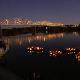 Llano River Pumpkin Float