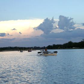 Llano River kayaking