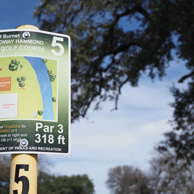 YMCA of the Highland Lakes disc golf