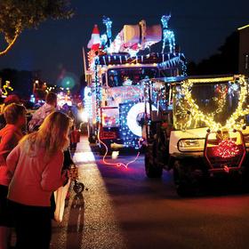 Marble Falls Christmas parade