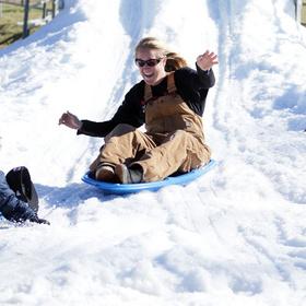 Llano Snow Day