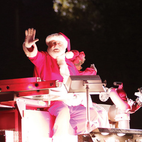 Llano Lighted Christmas Parade