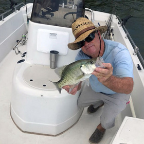 Highland Lakes fishing guide Jay 'Bird' Frasier