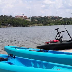 WaterTrek Rentals on Lake Marble Falls