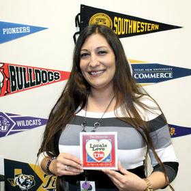 Kingsland School receptionist Crystal Serda