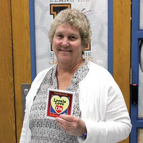 Packsaddle Elementary School teacher Lisa Hill